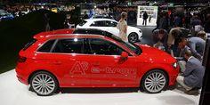 Audi e-tron Sportback Frankfurt, Car Show, Audi A3