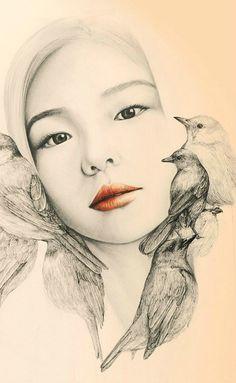 - Whimsical Drawings by OkArt  <3 <3