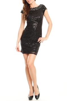 After Midnight Shimmer Dress