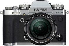 Fujifilm Systemkamera Megapixel 76 cm Zoll) Display Touch-Display APS-C-Sensor) Kit inkl. R LM OIS Objektiv silber Fuji X, Carte Sd, Image Processing, Fujifilm Instax Mini, Screen Protector, Binoculars, Cool Things To Buy, Lens, Photos