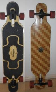 a loaded tan tien longboard im swaping some pushys for it
