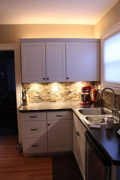 Elegant Ambiance Under Cabinet Lighting