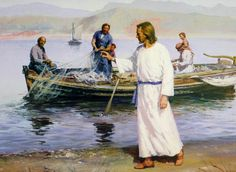 """""""...and Jesus said to them, Come after me, and I will make you fishers of men. ...""""  Mark 1:17"""