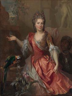Curator Katharine Baetjer examines an enslaved servant depicted in a mid-career…