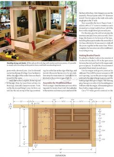 Shaker Workbench Plans - Workshop Solutions