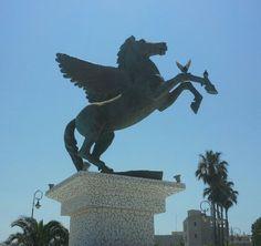 Korinth,Greece-Pegasus