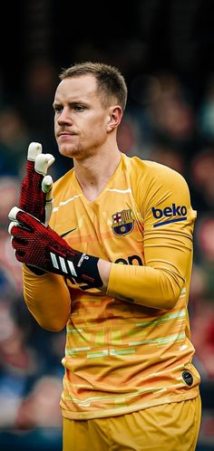 Fc Barcelona Players, Fcb Barcelona, Marc Andre, Goalkeeper, Champions League, Football Players, Barcelona Soccer, Messi Photos, Sports