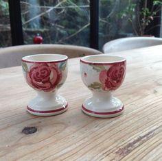 Emma Bridgewater Mary MacCarthy Rose Egg Cups