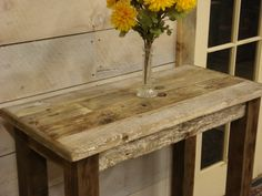 Driftwood Entry or Hallway Stand