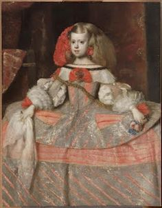 Velazquez: Baroque. Spanish court of Philip IV. Tried to emulate French court. Contemporary of Bernini. Figures from patches of color helped inspire Impressionism.