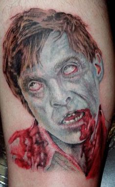 Show me pictures of zombie tattoos – Tattoo 2020 Zombie Tattoos, Bad Tattoos, Cute Tattoos, Geek Tattoos, Color Tattoos, Amazing Tattoos, Full Back Tattoos, Back Tattoos For Guys, Devotion Tattoo