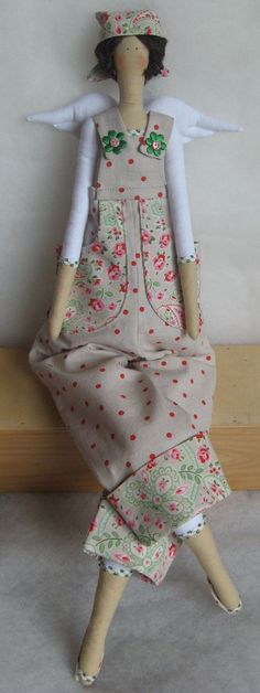 tilda dolls | Tilda Doll Gardener Angel
