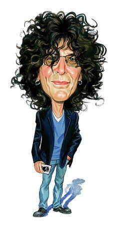 Howard Stern by Art