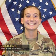 We're halfway there! Maj. Gen. John R. Evans Jr. is back with the #5 Cadet in the #ArmyROTC Top Ten OML Countdown! Cadet #5 is Sarah Didonna, from the Bison Battalion at North Dakota State University! She'll be commissioning with the U.S. Army National Guard in the #BOOM💥 Chemical Corps! North Dakota State University, Order Of Merit, Army National Guard, Rotc, John R, Bison, Top Ten, Good News, Jr