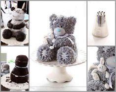 Bear cake for birthday