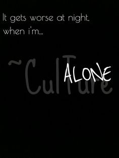 """""""When the anxiety creeps back into your mind and all the happy thoughts dissapear x  When You just sit there, while the tears start to build in your eyes x"""" ~CulTure"""