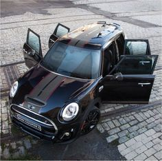 Black Mini Cooper, Mini Cooper Custom, Mini Countryman, Mini Clubman, Mini Cabrio, Mini Usa, Mini Mini, Mini Copper, John Cooper Works
