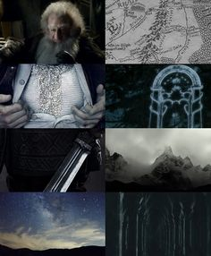 middle earth aesthetics: The Misty Mountains and Moria 1/2