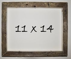 11 x 14 Driftwood Picture Frame 106 by DriftwoodMemories on Etsy, $39.95