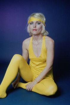 Singer Debbie Harry of Blondie 1979