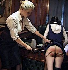 The cane was a feared form of punishment for most girls, but they all feared six-of-the-best on the bare-bottom from their headmistress in her study