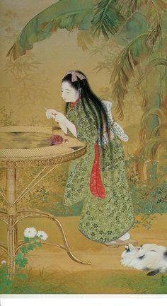 Terasaki Kogyo (寺崎広業) 1866-1919, Japanese Artist
