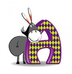 Alphabet latin — Wikimini, l'encyclopédie pour enfants Alphabet Latin, Images Alphabet, Scrap, Language, Cartoon, Kids, Animals, Characters, Design