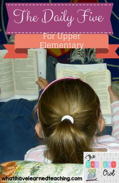 Daily 5 for Upper Elementary.048
