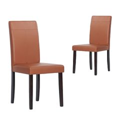 Warehouse of Tiffany Toffee Dining Room Chairs (Set of 4) $218