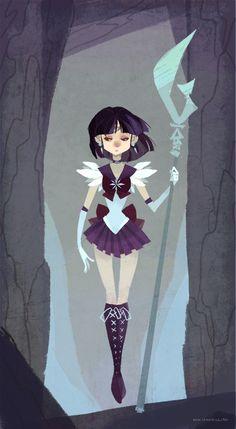 Sailor Saturn by nna.deviantart.com on @DeviantArt