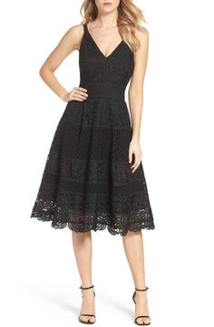 Fit & Flare Midi Dress ADELYN RAE