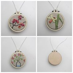 Learn how to hand embroider over 25 types of stitches with decorative flair!