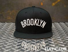 fccba545281 Arched Brooklyn Nets Snapback Cap by Mitchell   Ness   HAT CLUB