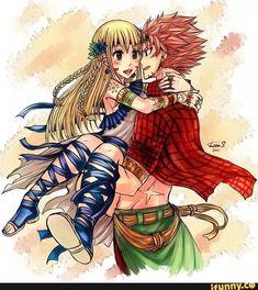 nalu, fairy tail, and anime image Fairy Tail Nalu, Fairy Tail Ships, Art Fairy Tail, Fairy Tail Natsu And Lucy, Fairy Tales, Anime Fairy, Fairytail, Gruvia, Natsu Und Lucy