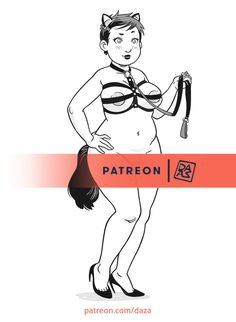 Some illustration of my Patreon are a little bit kinky ;) :D