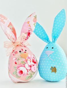 Купить Зайки - Пасха, пасхальный сувенир, пасхальный подарок, пасхальный декор, пасхальный заяц