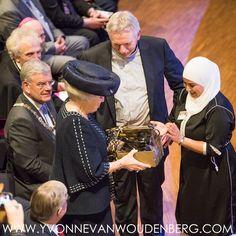 Prinses Beatrix bij jubileum In Vrijheid Verbonden