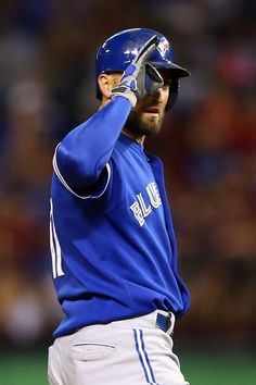 Toronto Blue Jays centerfielder Kevin Pillar trying to get his team going in Game 3 of the ALDS