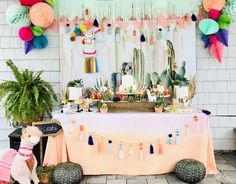 LLAMA FIESTA BIRTHDAY | CatchMyParty.com