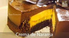 Receta de Crema de naranja para rellenar pasteles | Eureka Recetas