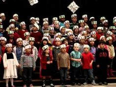 Kindergarten Christmas song - YouTube