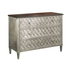 Murano Three Drawer Chest by Hickory Chair