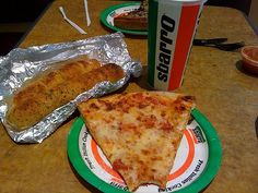 Sbarro - must have when you were hanging out at the mall!