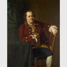 """John Singleton Copley, """"Daniel Rogers,"""" (1767), oil on canvas"""
