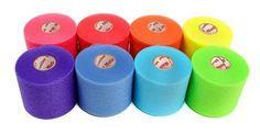 Mueller Rainbow Pack Of Sports Pre-Wrap (8 Colors!),30 Yards,Rainbow #Mueller
