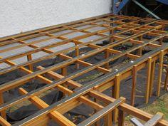 Structure de terrasse en bois Cumaru Ladder, Pilot, Deck, Architecture, Nature, Outdoor Seating, Terraces, Decking, Stairway