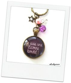 Porte clés bijou de sac - Je suis une licorne : Porte clés par alodycrea unicorn - jewerly - keychain