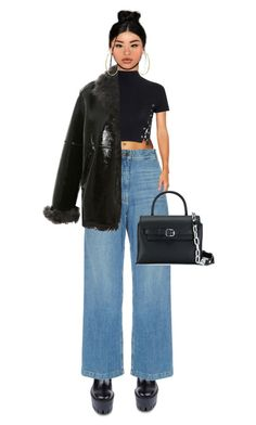 """""""The baddest cutie."""" by sjaade ❤ liked on Polyvore featuring STELLA McCARTNEY, Rachel Comey, Glamorous, Alexander Wang, Bling Jewelry and Christopher Kane"""
