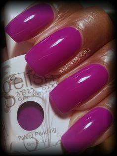 Gelish You Glare I Glow (neon purple)