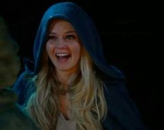 Emma's face after seeing Snow restored and back from the dead...